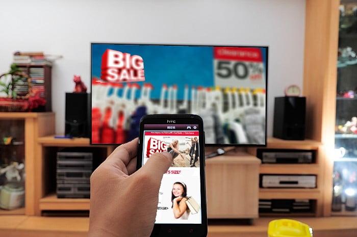 television ad