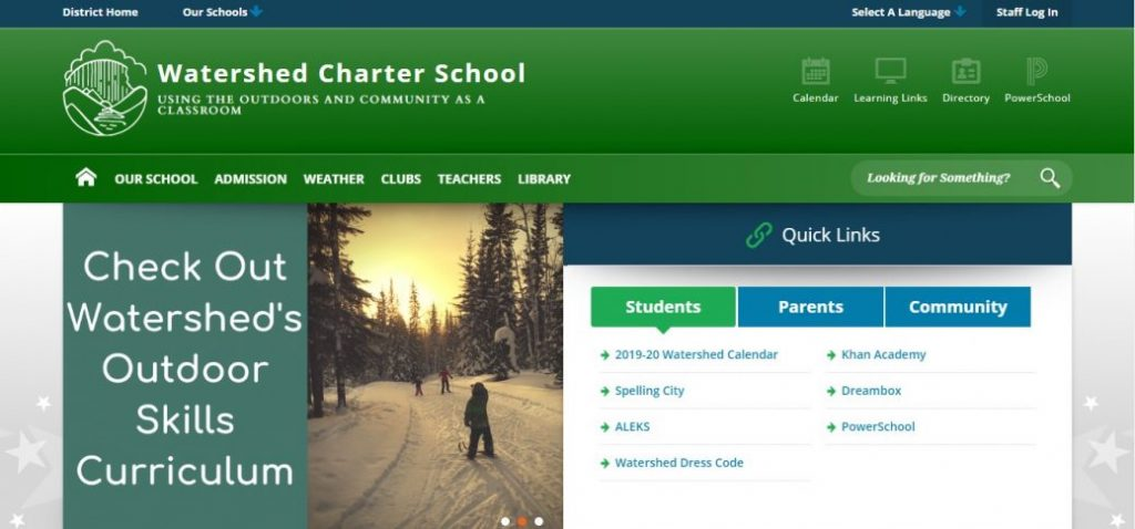 watershed charter school