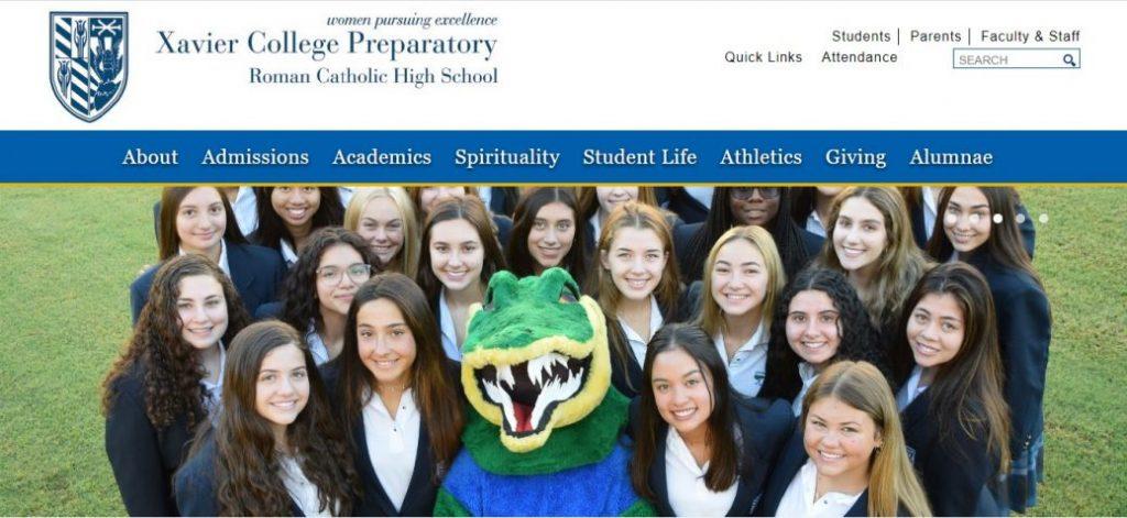 xavier college preparatory roman catholic high school