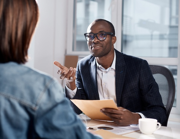 Avoid getting too personal in interviews