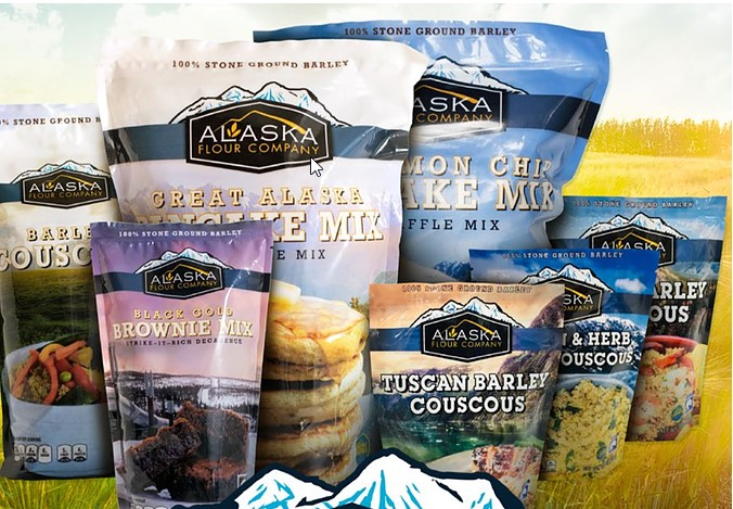 Alaska Grown Whole Grain Products