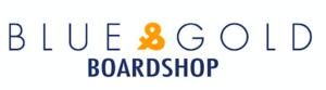 Blue & Gold Board Shop