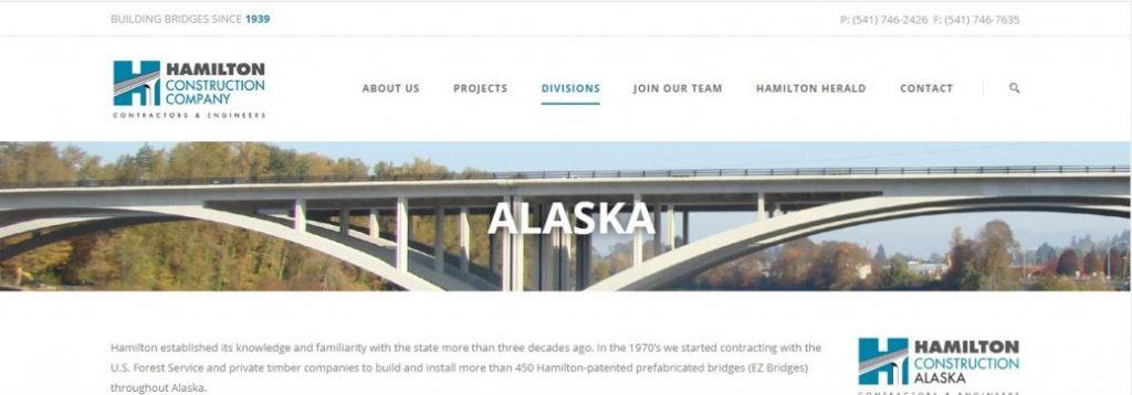 Hamilton Construction Alaska