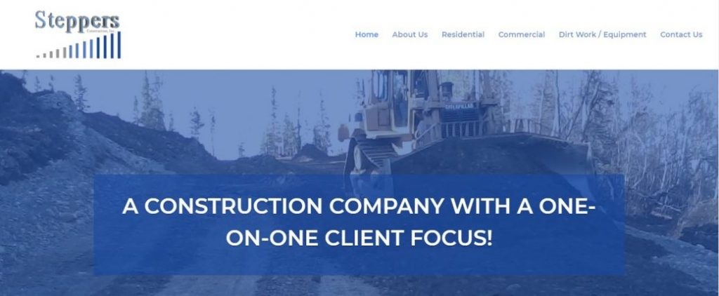 Steppers Construction Inc