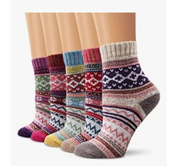 Ambielly Winter Women Socks