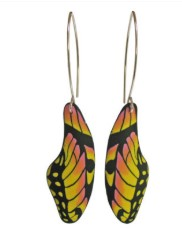 Butterfly Earrings – Yellow