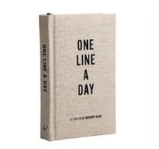 Canvas One Lines A Day Memory Book