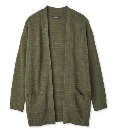 George Women's Novelty Stitch Cardigan