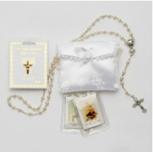 Girl's First Communion Gift Set Rosary