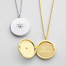 Hidden Message Locket - christmas gift ideas for her canada