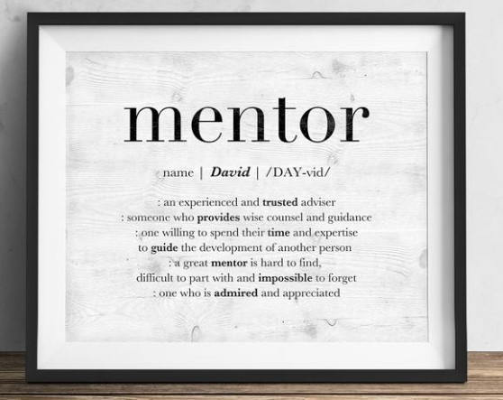 Personalized Gift for Mentor