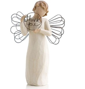 Willow Tree® Angel Just For You Thank You Figurine