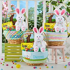 Personalized Easter Baskets Canada-12 inch Create Your Own Easter Basket