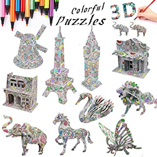 3D Coloring Painting Puzzle