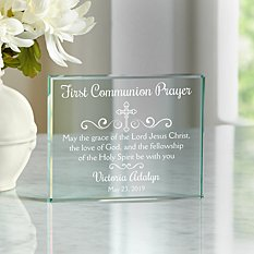 A Sacrament Blessing Glass Book