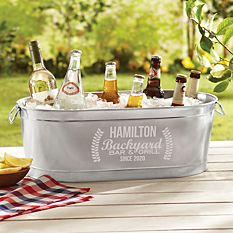 First Father's Day Gifts Canada-Backyard Bar Beverage Tub