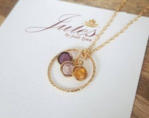 Grandma Gifts Canada-Birthstone Necklace
