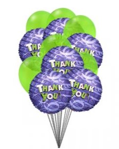 Bunch of Thanks Balloons