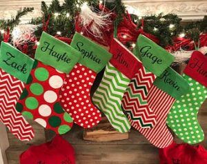 custom Christmas stockings Canada-Canvas Stockings