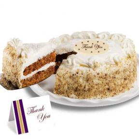 Carrot Thank You Cake