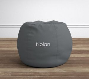 Toddler Gifts Canada-Charcoal Twill Anywhere Beanbag™