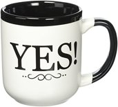 Grandma Gifts Canada-Coffe Mug For Grandma The Answer Is Yes! Grandparent Gift Mug