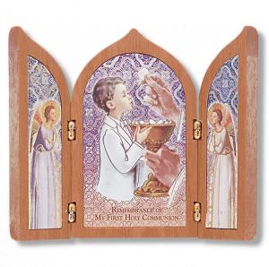 First Communion Gifts Boy Canada-Communion Triptych for Boys