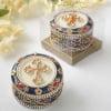 Cross Rosary Trinket Box
