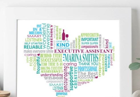 Customized Administrative Professional Gift