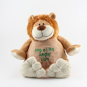 Ring Bearer Gifts Canada-EMBROIDERABLE RORY LION