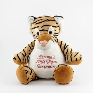 Ring Bearer Gifts Canada-EMBROIDERABLE TORY TIGER