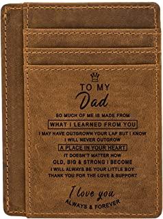 Engraved Pocket Wallet for Men