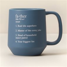 First Father's Day Gifts Canada-FATHER DEFINITION MUG