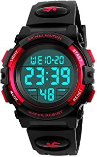 Farsler Digital Sports 50M Waterproof Led Watch