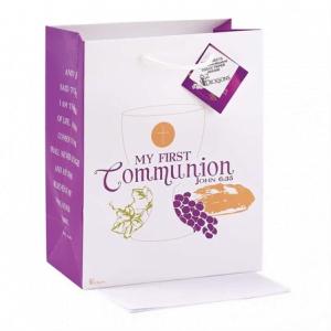 First Communion Gifts Boy Canada-First Communion Medium Gift Bag