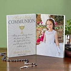 First Communion Photo Panel