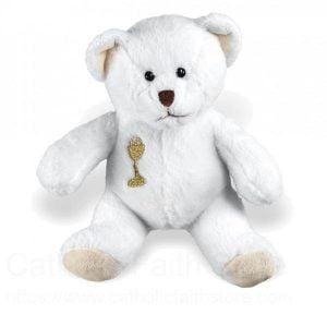 First Communion Gifts Boy Canada-First Communion White Polar Teddy Bear