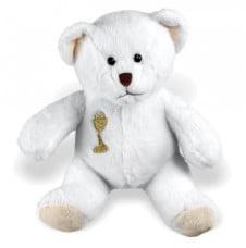First Communion White Polar Teddy Bear