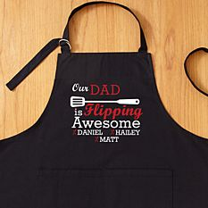 First Father's Day Gifts Canada-Flipping Awesome Grilling Apron