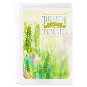 Hallmark Canada First Communion Gifts-Follow in His Way Religious First Communion Card