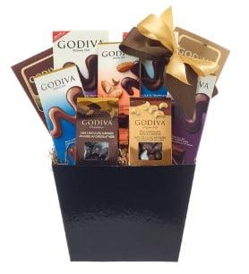 Godiva Chocolate Basket Large