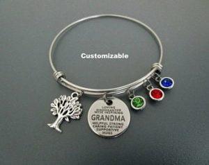 Grandma Gifts Canada-Grandma Bracelet