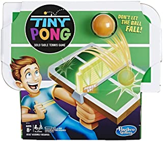 Hasbro Tiny Pong Solo Table Tennis Kids Electronic Handheld Game