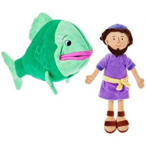 Hallmark Canada First Communion Gifts-Jonah and the Big Fish Stuffed Doll Set