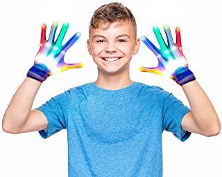 KITY LED Flashing Gloves for Kids