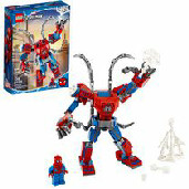 Cool Christmas Gifts Canada-LEGO Marvel SpiderMan SpiderMan Mech 76146 Toy (152 Pieces)