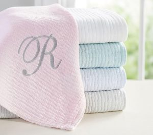 Toddler Gifts Canada-Matelasse Baby Blanket