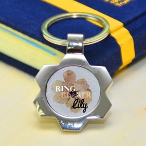 Ring Bearer Gifts Canada-Metal Keychains (Round #3)