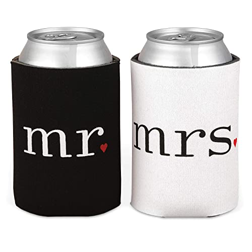 Mr. and Mrs. Can Coolers Gift Set