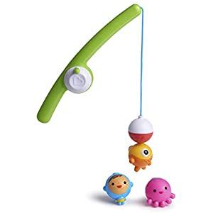 Toddler Gifts Canada-Munchkin 17040 Fishin' Bath Toy, Multi